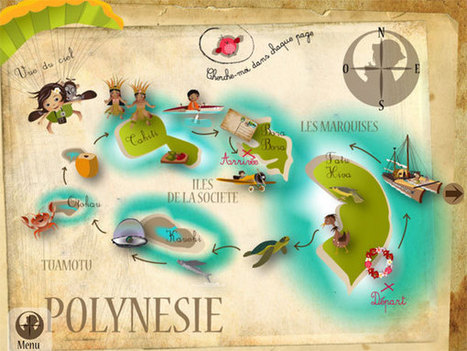Application iPad : La Polynésie de Lulu   Francophonie   Scoop.it