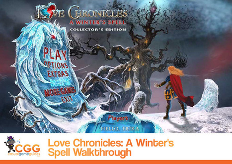 Love Chronicles: A Winter's Spell Walkthrough: From CasualGameGuides.com | Casual Game Walkthroughs | Scoop.it