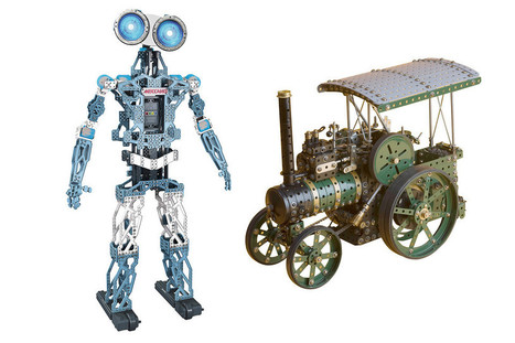 Rise of the (Toy) Machines: Meccano's Meccanoid Robot Is Built From an Erector Set | Learning is Fun and Games | Scoop.it