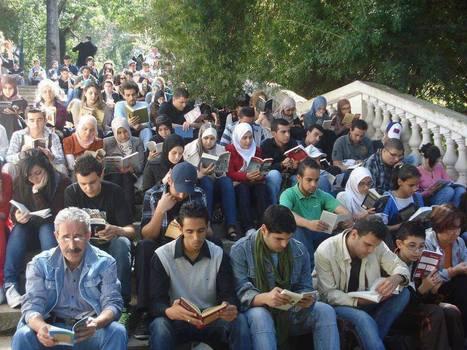 Manifeste pour la lecture au Jardin d'Essai d'Alger | Créacrise | Scoop.it