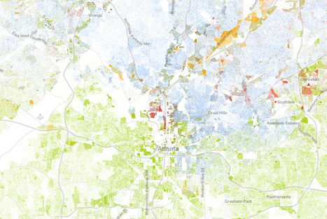 The Best Map Ever Made of America's Racial Segregation | Geography | Scoop.it