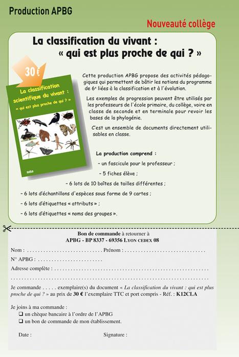 Classification scientifique du vivant | Insect Archive | Scoop.it