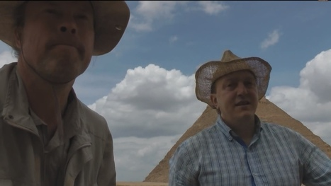 Great Pyramid at Giza Vandalized to 'Prove' Conspiracy Theory | Quite Interesting News | Scoop.it