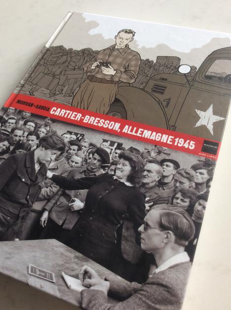 Sortie d'une bande dessinée : Cartier Bresson, Allemagne 1945 | Photographie B&W | Scoop.it