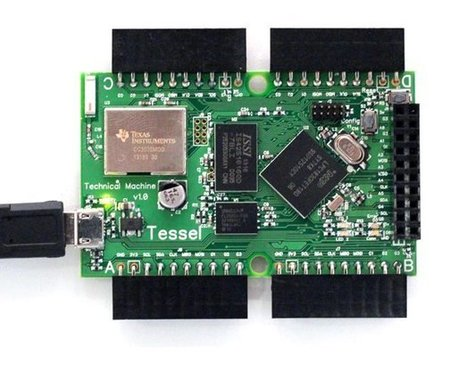 Tessel ARM Cortex-M3 MCU Board Brings Hardware Hacking to Web Developers with JavaScript and Node.js | P.L. | Scoop.it