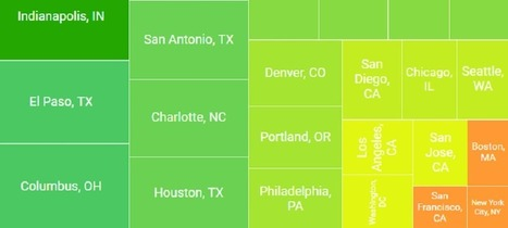 What does $1,500 Rent You? - Apartment Size in the Top US Cities | Real estate | Scoop.it