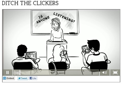 Ditch the Clickers | Active learning in Higher Education | Scoop.it
