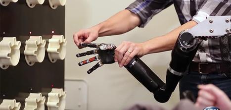 Une prothèse de bras capable de vous faire sentir ce que vous touchez   L'innovation dans la filière cuir   Scoop.it