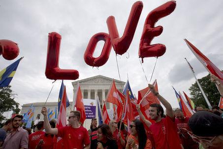 La Cour suprême a légalisé, vendredi, le mariage homosexuel dans l'ensemble des Etats-Unis | ALTERNATIVES ET RÉSISTANCES | Scoop.it