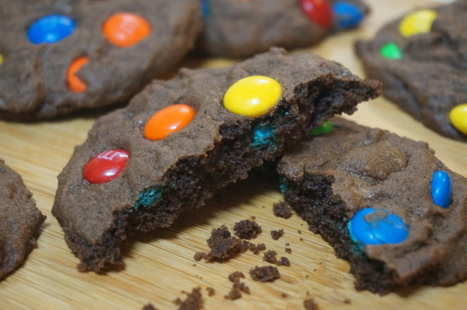 Chocolate M and M Cookies - BrightSpring | BrightSpring and Delicious Food | Scoop.it