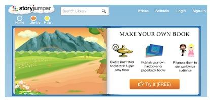Storyjumper - Para crear y publicar libros digitales con facilidad | Internet como recurso Docente | Scoop.it