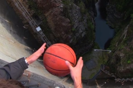 Thanks To The Magnus Effect, This Basketball Does Something Pretty Weird When Dropped | Enjoy Physics | Scoop.it