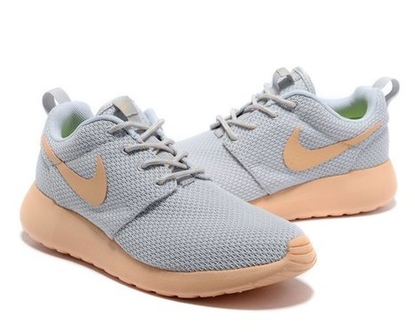 Great Deals Nike UK Roshe Running- Yeezy Womens Grey Light Pink | Cheap Nike Roshe Run | Scoop.it