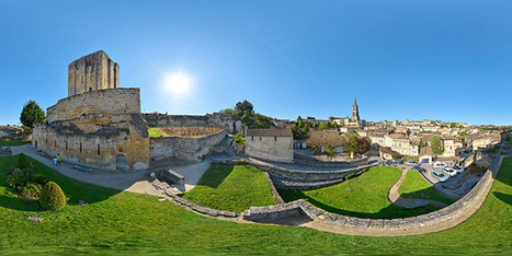 La massive tour du Roy de Saint-Emilion  -  France par Pascal Moulin, Photographe - Panorama 360 x 180° au mât télescopique (hauteur 5 mètres) | moulin360panoramic | Scoop.it