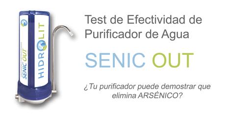 Purificador de Agua SENIC OUT de HIDROLIT elimina Arsénico. Comprobado!!! | Agua Pureza Perú | Scoop.it