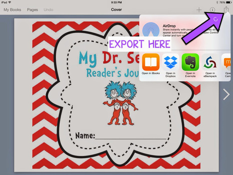Digital interactive notebooks with Book Creator - Book Creator app | Blog | Go Go Learning | Scoop.it