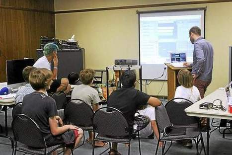 Bayard Taylor Library hosts Google Maker camp - southern chester county weeklies | Makerspaces in Libraries | Scoop.it
