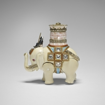 Lost Fabergé Egg Elephant Discovered - artnet News | eMuseums Eye | Scoop.it