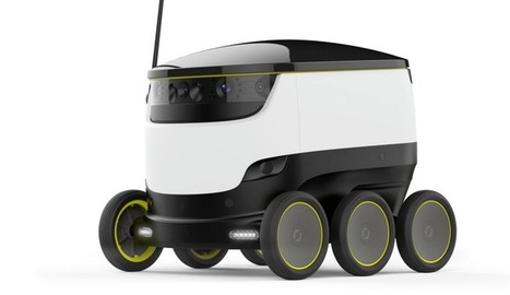Ground delivery robots: Passing fancy or nextwave? | Delivery | Scoop.it