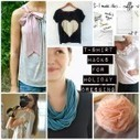 Over a Dozen Ways to Rock an Old Tee for the Holidays - Babble | Fiber Arts | Scoop.it