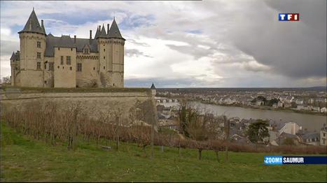 Zoom sur Saumur dans le 13h du week-end de Tf1 | loire valley | Scoop.it
