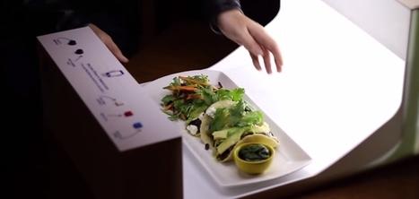 Un restaurant installe un dispositif permettant aux clients de prendre des photos de leurs plats   Hébergements touristiques, design et innovation   Scoop.it