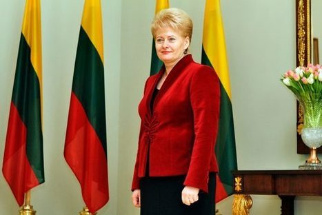 The Lithuanian President Dalia Grybauskaite the first to quit EU | Investig'Action | Global politics | Scoop.it