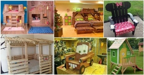 Coolest DIY Kids Pallet Furniture Ideas | Upcycled Objects | Scoop.it