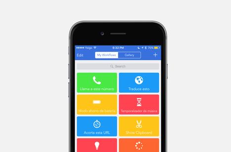 53 de los mejores workflows para que le saques provecho a Workflow en iOS | Aplicaciones, Software, Apple, Windows... | Scoop.it