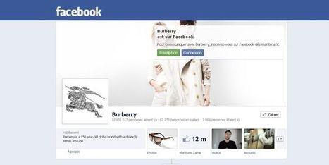 L'entrée en Bourse de Facebook, une révolution pour les marques de mode ? | The Best Of Webmarketing | Scoop.it