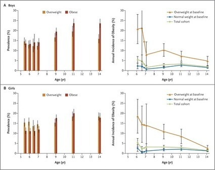 Incidence of Childhood Obesity in the United States — NEJM | Medicine, Health, and CE | Scoop.it