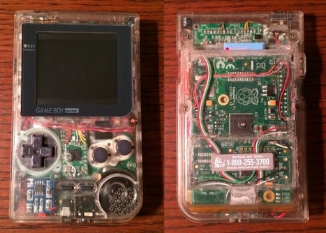 Raspberry Pi Gameboy Pocket Portable Games Console | Raspberry Pi | Scoop.it