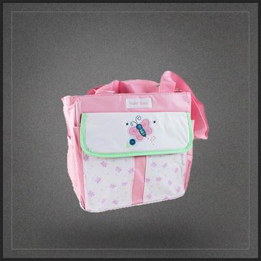 Sac épaule porte biberons de bébé isotherme rose | Boutique Muku | Scoop.it