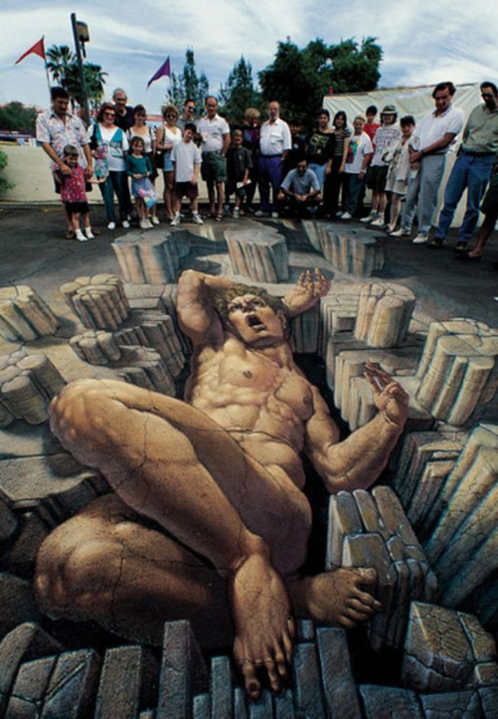 10 of the World's Most Amazing 3D Street Artists: From Sidewalk Sketches to Awesome Wall Murals | WebUrbanist | Machinimania | Scoop.it