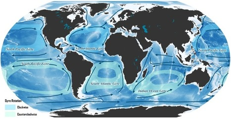 Major Oceanic Gyres and Sea Currents | Coordenadas | Scoop.it