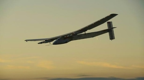 Solar Impulse 2 réussit sa première traversée de l'Atlantique | Energies Renouvelables | Scoop.it
