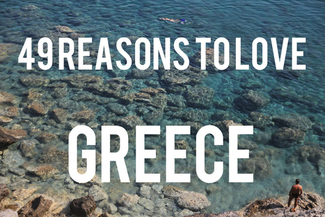 49 Reasons To Love #Greece | Discover Halkidiki | Scoop.it