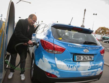 Des taxis cracheurs d'eau roulent dans Paris | Marketing respectueux | Scoop.it