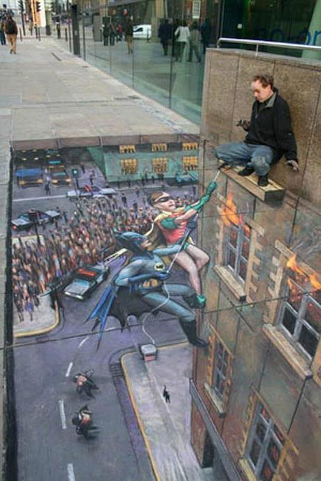 Twitter / PhotosIllusions: Impressionnante Street Art ... | Street art | Scoop.it