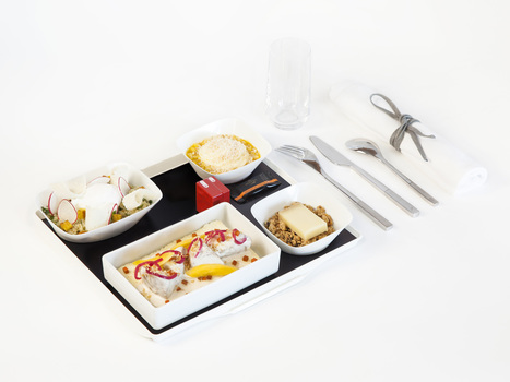 Leave It to the French to Make Airplane Food Appetizing | Aviation & Airliners | Scoop.it