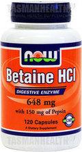 NOW Foods Betaine HCl | Tasman Health | Scoop.it
