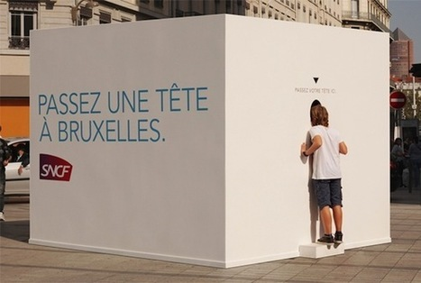 Street marketing : Passez une tête à Bruxelles | Barcelona | Scoop.it