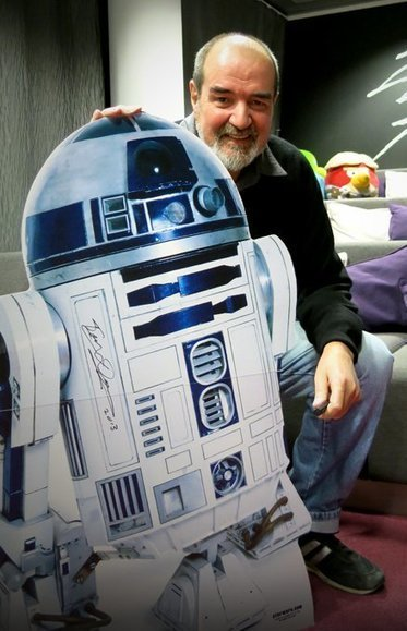 James Bruton Offering His Full-Sized, 3D Printed R2-D2 Robot Free on Github | Architecture, design & algorithms | Scoop.it