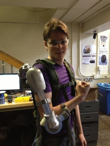 """DailyTech - Iron Man? Nope, New Lifting Aid is Called the """"Titan Arm"""" 