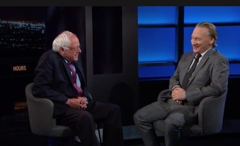 Article: Bill Maher Real Time interview with Bernie Sanders | Global politics | Scoop.it