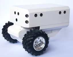 Kutuno One – Our first mobile robot prototype   Robots   Scoop.it