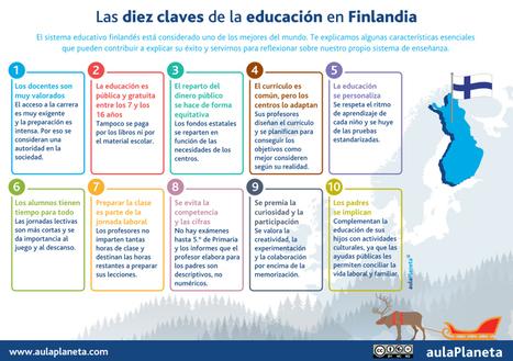 Las diez claves de la educación en Finlandia -aulaPlaneta | Economía&ADE | Scoop.it