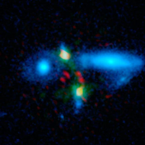 Astronomers Discover Extremely Luminous Mega-Galaxy   Amazing Science   Scoop.it