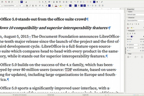 LibreOffice gets major update with version 5, is now Windows 10 compatible - Computerworld | TDF & LibreOffice | Scoop.it