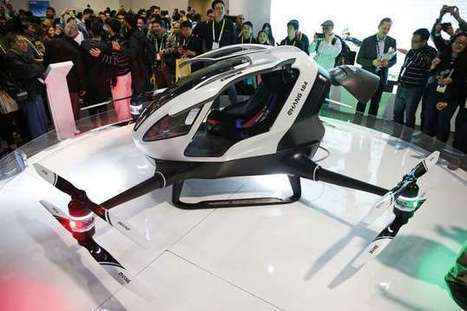 Chinese drone maker unveils human-carrying drone | Uso inteligente de las herramientas TIC | Scoop.it